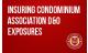 Insuring Condominium Association D&O Exposures