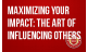 Succession Training- Maximizing your Impact: The Art of Influencing Others