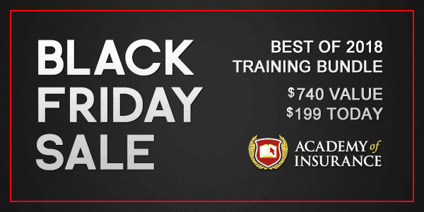 insurance training sale