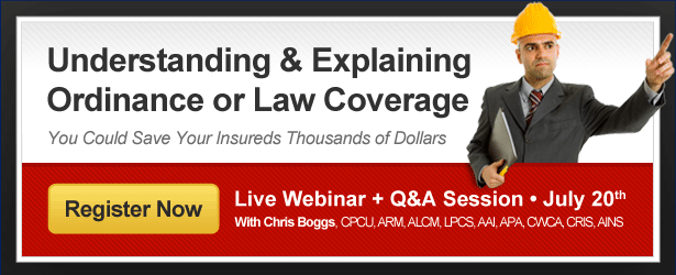 Understanding and Explaining Ordinance or Law Coverage - A New ...